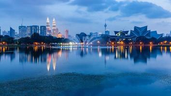 kuala lumpur skyline malaysia picture