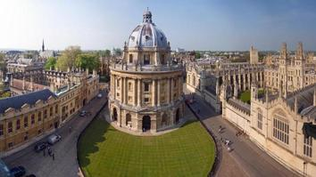 oxford university panoramic photo