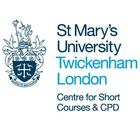 St Mary's University, Centre for Short Courses & CPD - Overview